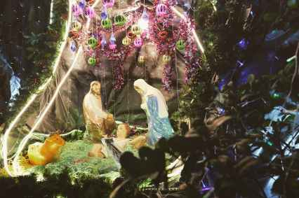 nativity scene christmas decor